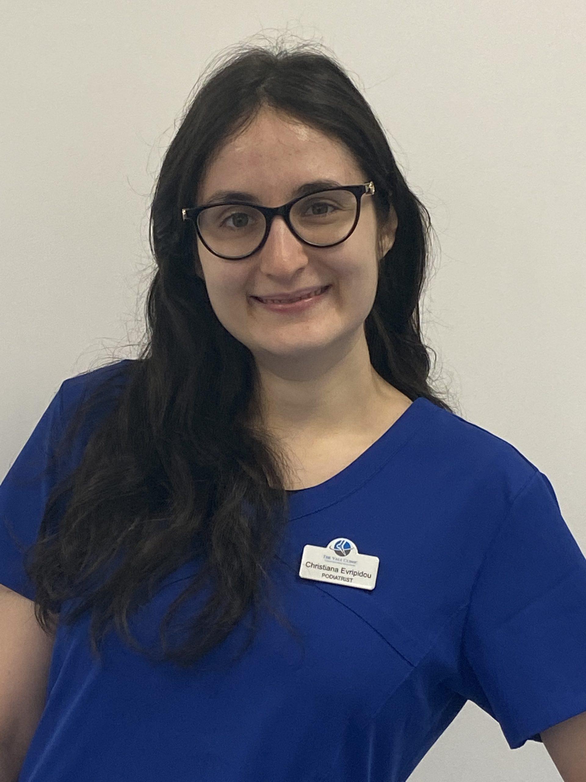 Christiana Podiatrist at the Vale Clinic
