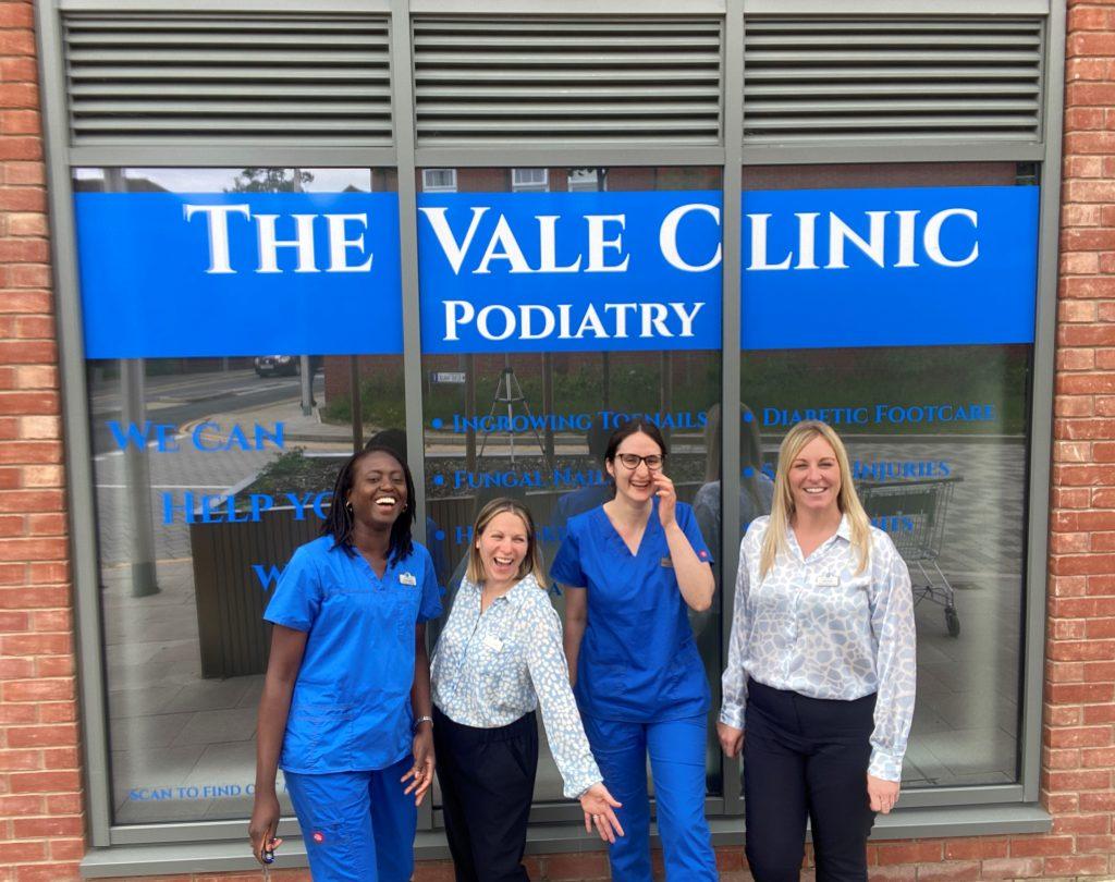 The Vale Clinic team